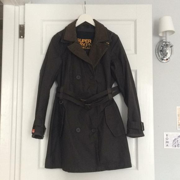 209e3590 Superdry Jackets & Coats | Safari Wax Mac Jacket In Brown | Poshmark